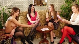 Lesbian Aunts have naughty fun with their nieces